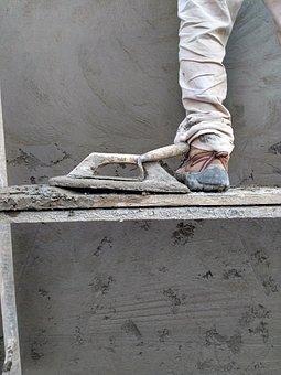 Construction, Tarrajeo, Cement, Iron Polishing, Palette