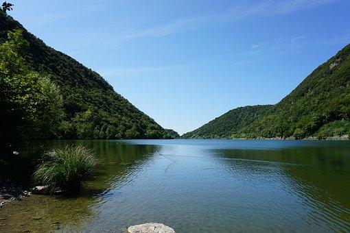 The Lake Of Segrino, Segrino, Como, Lake, Mountains