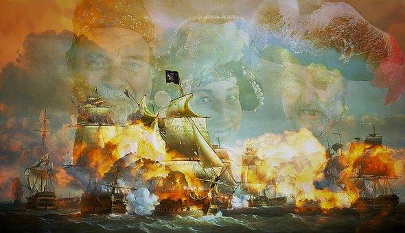 Pirate, Captain, Corsair, Ship, Privateers, Adventure