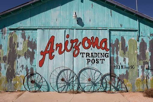Arizona, Desert, Trading Post, America, Usa, Southwest