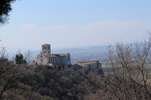 Umbria, Assisi, Basilica, St Francis