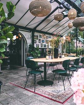 Restaurant, Styling, Cafe, Decoration, Food, Bar