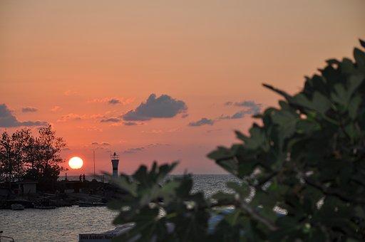 Akcakoca, Black Sea Cost, Turkey, Sunset