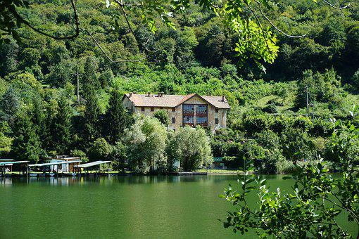 The Lake Of Segrino, Chalet Segrino, Lake Lombardia