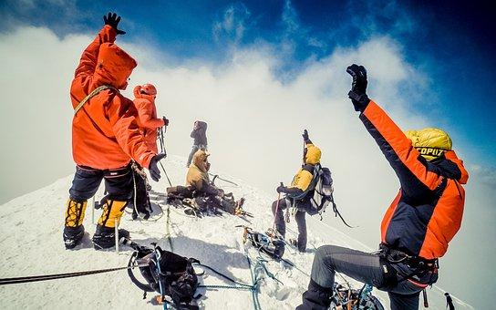 Top, Kazbek, Ossetia, Camping, Tourism, Adventure