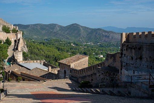 Castle Of Xativa, Xativa, Castle, Tourism, Monumental