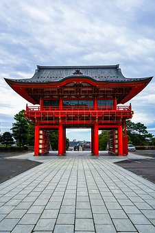 Shrine, Temple, Japan, History, Traditional, Tourism