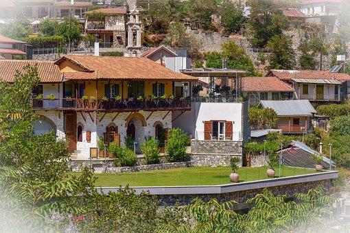 Cyprus, Kalopanayiotis, Architecture, Traditional