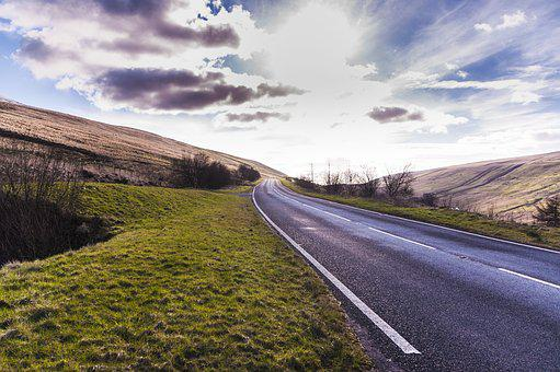 Road, Asphalt, Travel, Highway, Horizon, Endless