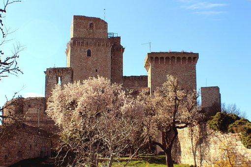 Umbria, Assisi, Rocca, More