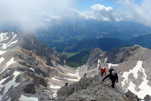 Via Iron Port, The Risk Of, Climbing, Mountains
