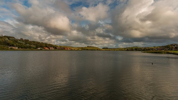 Fjord, Denmark, Lake, Nature, Landscape, Water