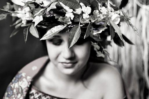Folklore, Flowers, Wreath, The Tradition Of, Spiritual