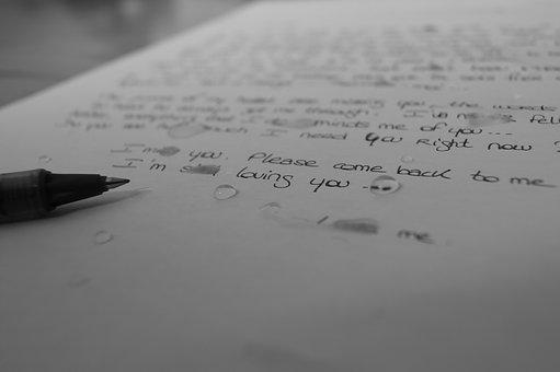 Letter, Tears, Sad, Writing, Emotions, Sadness, Emotion