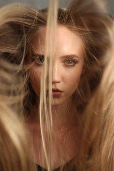 Model, Beauty, Girl, Hair, View, Blonde