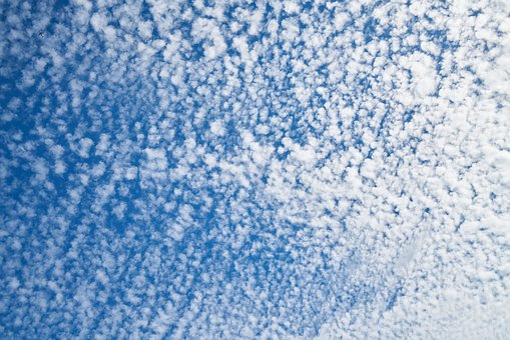 Blue, Clouds, White, Atmosphere, Air, Space, Season