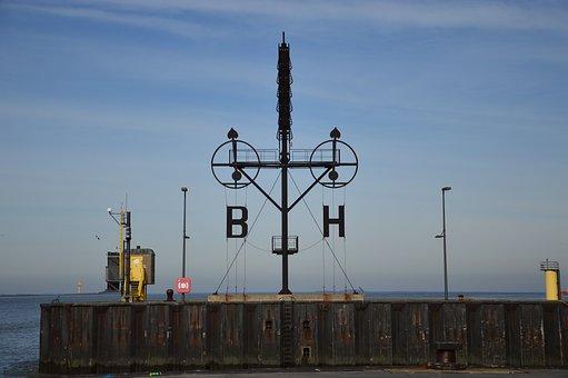 Bremerhaven, Weser, North Sea, Port, Lighthouse