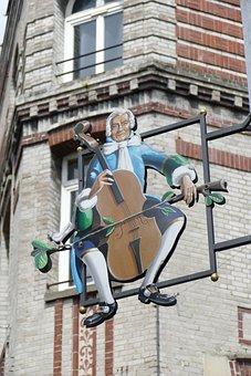 Shield, Advertising, Advertisement, Cello, Cellist
