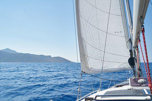 Sailboat, Boat, Cloth, Fabric, Wind, Go, Adventure