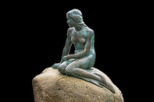 Little Mermaid, Statue, Copenhagen, Denmark