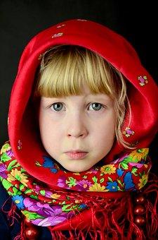 Child, Folklore, Sadness, Eyes, Mood, Girl, Face
