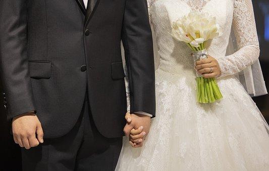 Marriage, Wedding Ceremony, Love, Priest, Groom, Happy