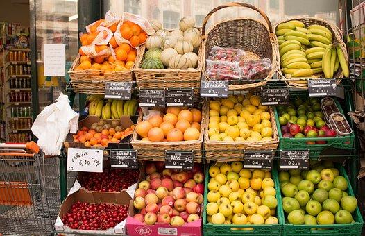 Fruit, Healthy, Market, Food, Vitamins, Fruits, Ripe