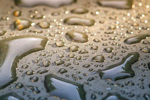 Drop Of Water, Water, Wet, Drip, Liquid, Inject