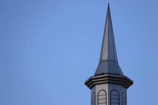 Blue Sky, Pillar, Photography, Architecture, Light