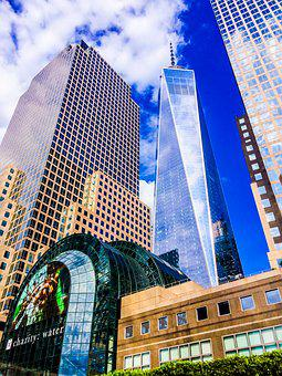 Tower, Freedom, Freedom Tower, New York, New York City