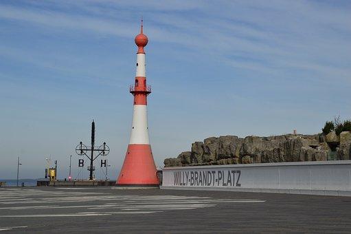 Bremerhaven, Weser, North Sea, Port, Willy Brand Platz