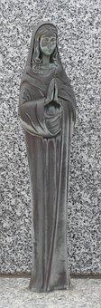 Image, Statue, Art, Woman, Figure, Sculpture, Religion