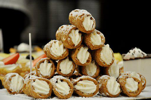 Sicilian Cannoli, Sweets, Dessert, Ricotta