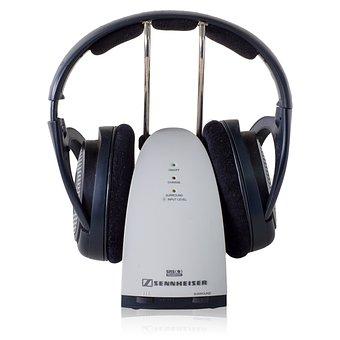 Sennheiser Wireless Headphones, Headphones, Isolated
