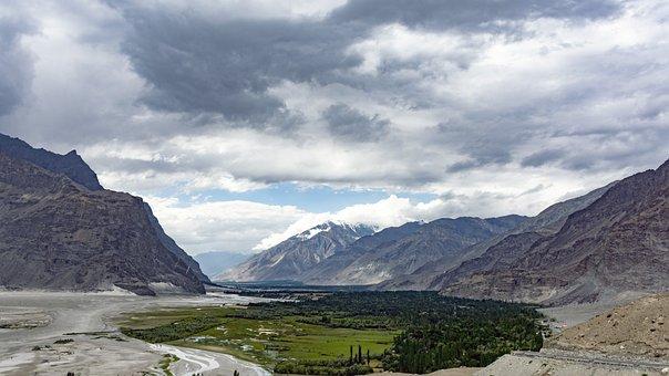 Shigar, Valley, Skardu, Himalayan, Mountains, Gb, North