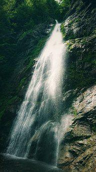 Waterfall, Water, River, Spring, Nature, Cascade