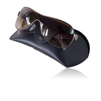 Ray-ban Sunglasses, Glasses, Sunglasses, Isolated