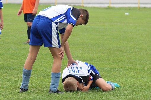 Football, Injury, Pain, Teammate, Help, Footballer