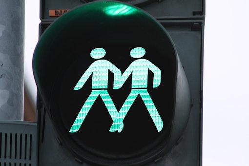 Traffic Lights, Green, Together, Little Green Man, Go