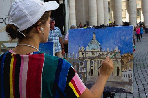 Art, Artists, Vatican, Vatican City, Rome, Travel