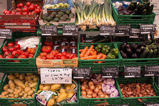 Vegetables, Shop, Fresh, Organic, Power Supply