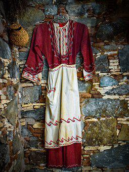 Traditional Costume, Wall, Village, Clothing