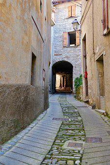 Italy, Village, Alley, Architecture, Bergdorf, Tourism