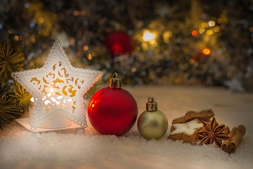 Christmas, Gift, Deco, Light, Mood, December, Winter