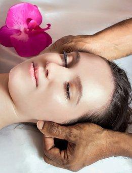 Woman, Young, Massage, Head Massage, Ayurveda, Girl