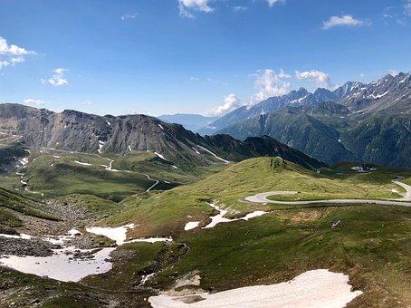 The Grossglockner, Austria, Alps, Snow, Mountain