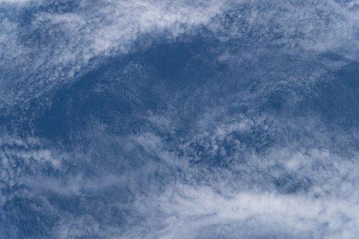Clouds, White, Blue, Fluffy, Cirrocumulus, Delicate