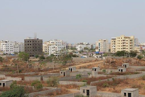 Hyderabad, Real Estate, Buildings, City, Building