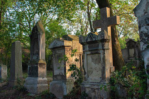 Cemetery, Tombstone, Grave, Tomb, Death, Mourning