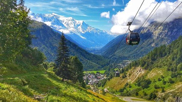 Chamonix, Landscape, Nature, Mountains, France, Alps